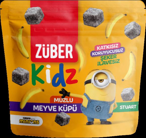 Züber Kidz Muzlu Meyve Küpü, 49g