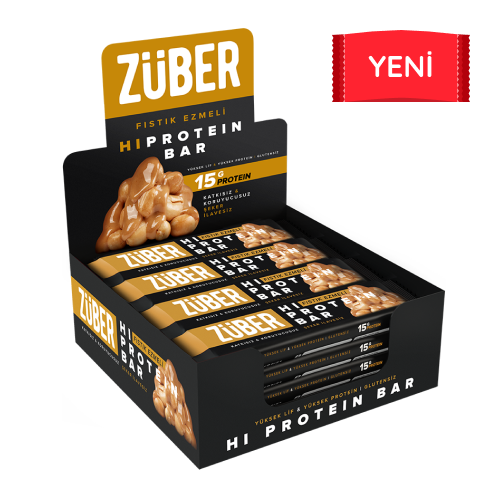 Fıstık Ezmeli Yüksek Protein Bar, 45g