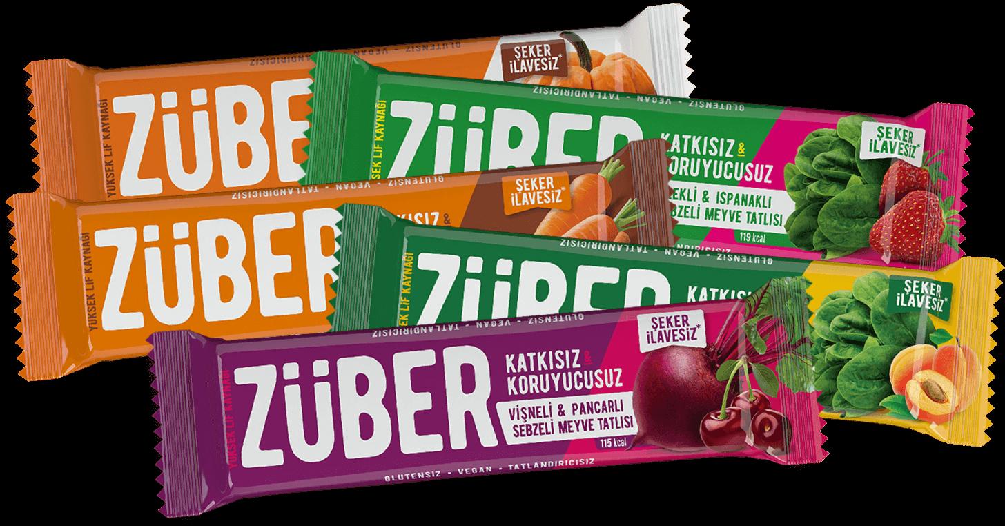Züber Sebzeli Bar %100 Doğal Sağlıklı Atıştırmalık