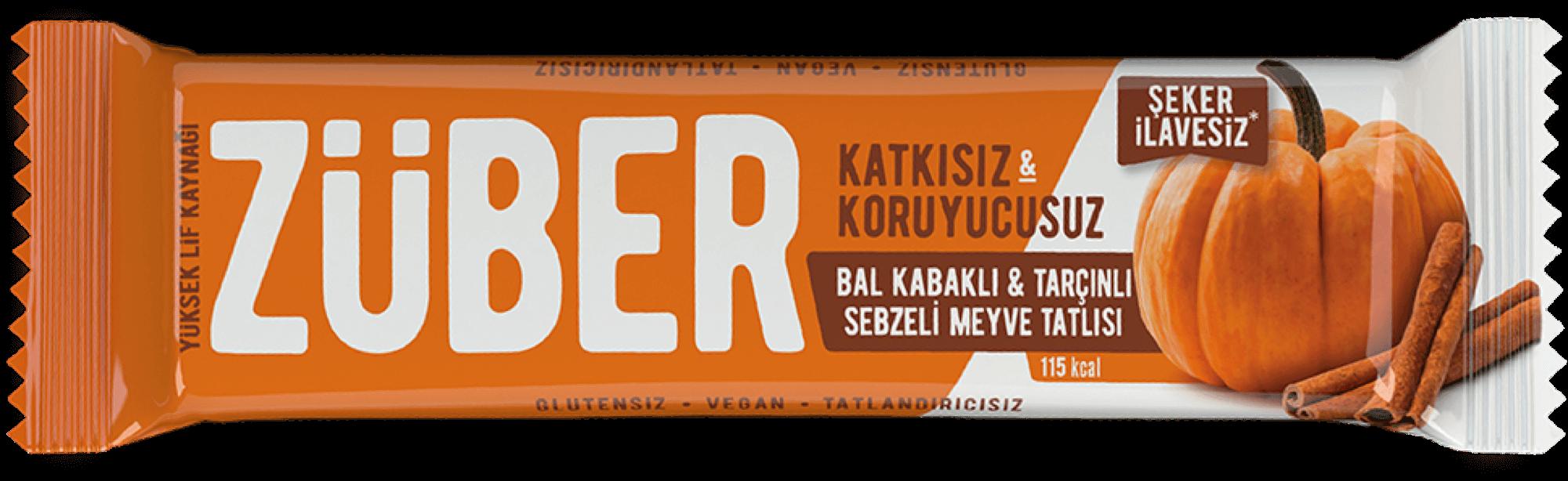 Bal Kabaklı & Tarçınlı Sebzeli Bar, 35g