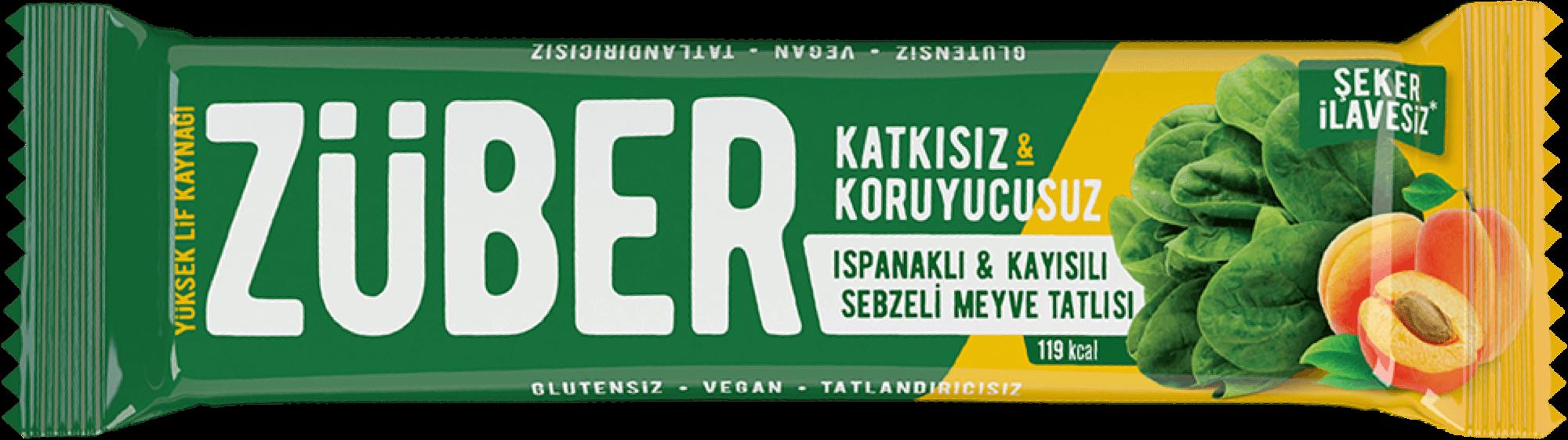 Ispanaklı, Kayısılı Sebzeli Bar, 35g